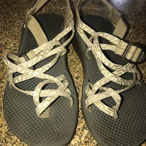 Brown Patterned Chacos
